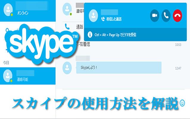 8c1d4840f3 スカイプ(Skype)の使用方法を詳しく解説 - 英会話を上達させる確実な勉強 ...