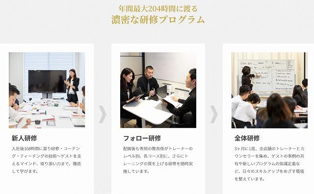 ライザップ イングリッシュの日本人トレーナー