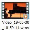ビデオファイル